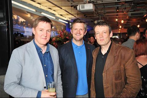 Mike Elliott, Ben Roberts, Guy Myhill